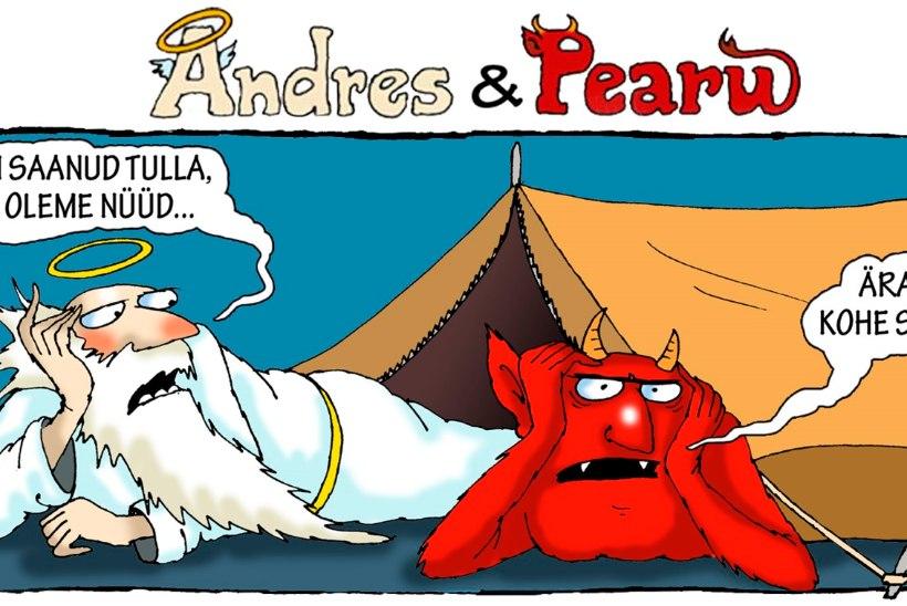 Andres ja Pearu: kui jaanipäeva plaanid päris hästi ei õnnestunud...