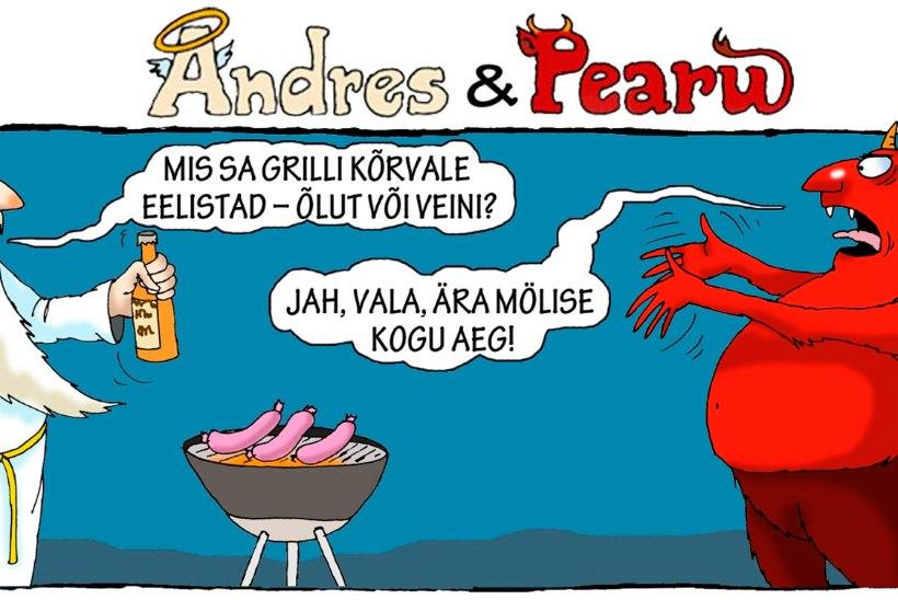 Andres ja Pearu: parim grillretsept läbi aegade!