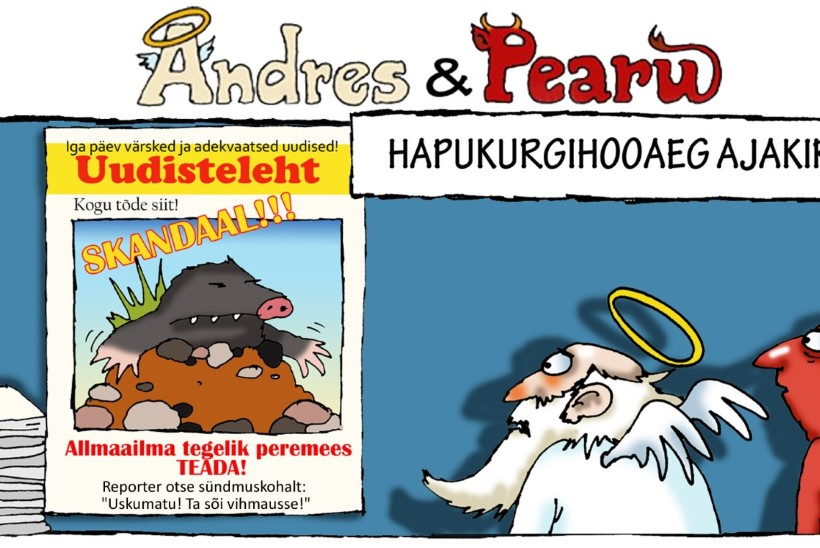 Andres ja Pearu: pommuudis, loe kohe-kohe-kohe!