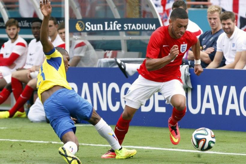 Ebaõnn: Inglismaa keskväljamängija vigastas end vahetult enne MM-i