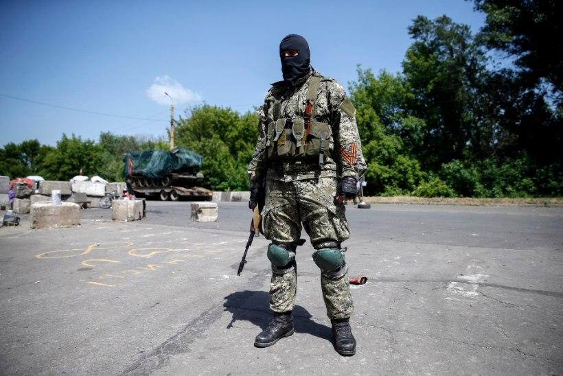 Ukraina kuulutas separatistide liidrid tagaotsitavaks
