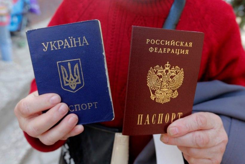 Krimmi elanikele on välja antud 700 000 Vene passi