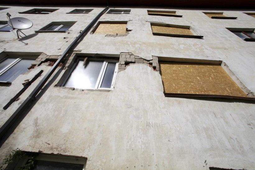 Kunda plahvatusmaja lammutatakse, elanikud ootavad kindlustusest raha