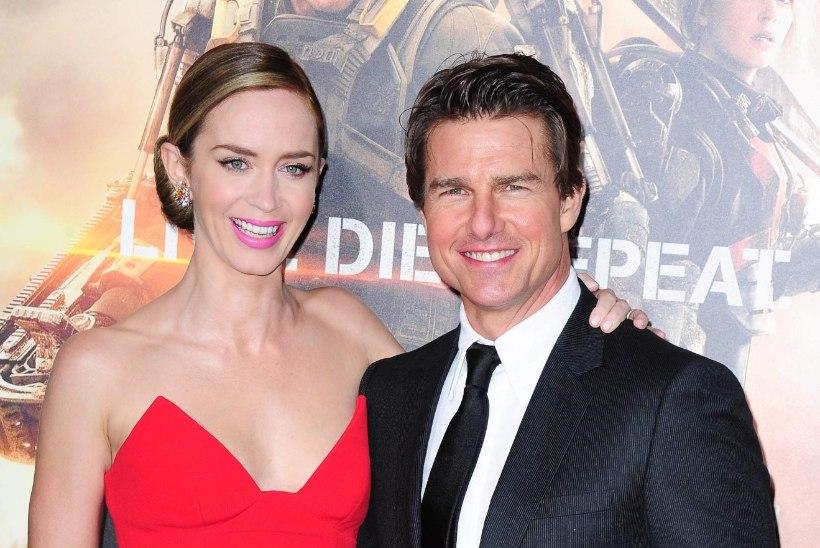 Emily Blunt: oleksin Tom Cruise'i tapnud