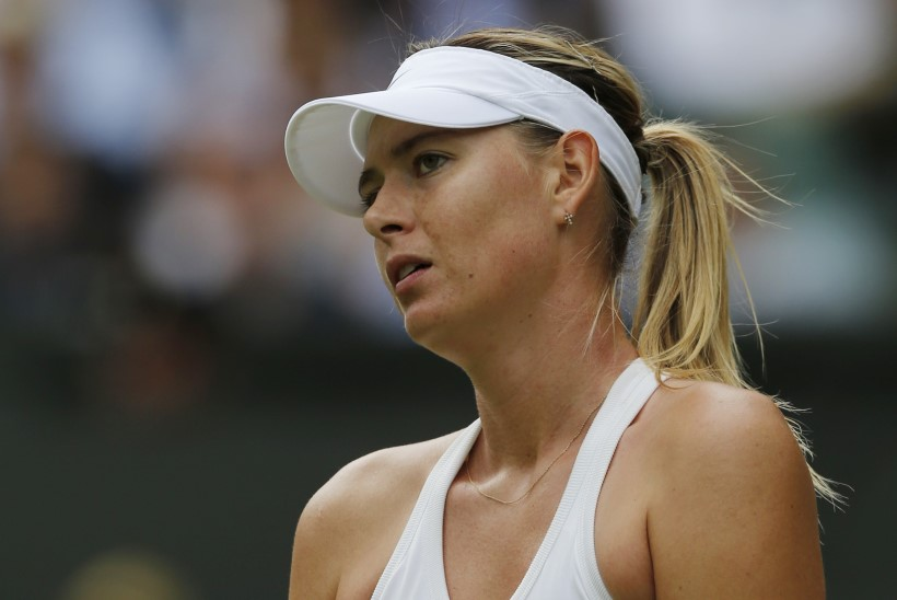 Šarapova langes Wimbledonis konkurentsist