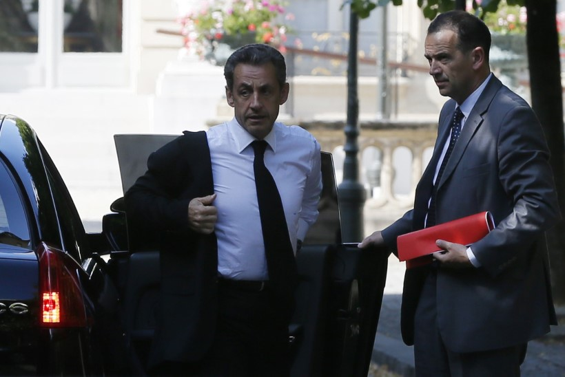Politsei pidas Prantsusmaa ekspresidendi Nicolas Sarkozy kinni