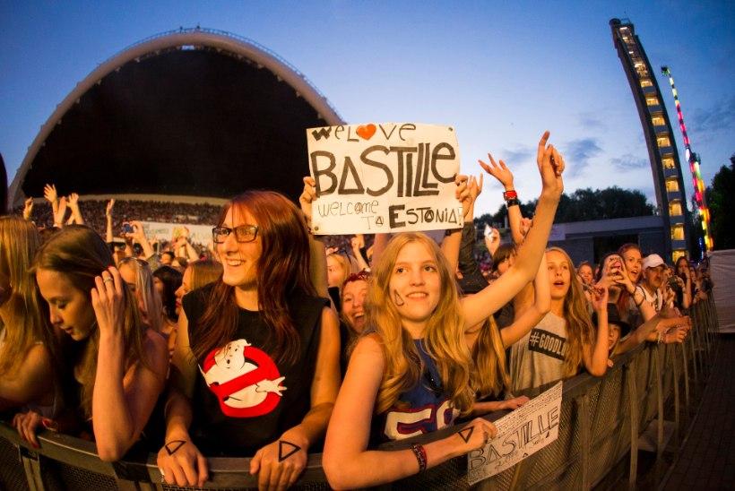 Bastille kontserdi kaks vaatust: alguses ei saanud vedama, hiljem pidama