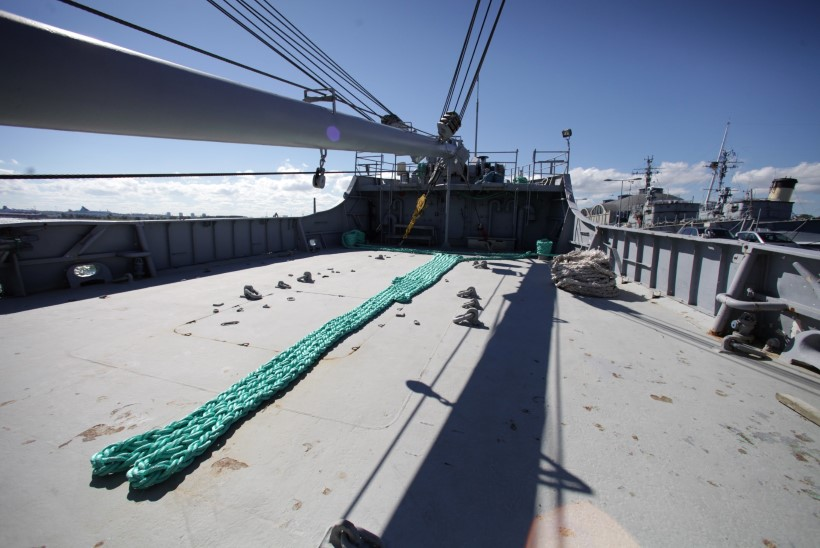 FOTOD: Piirivalvelaev Valvas anti üle meremuuseumile