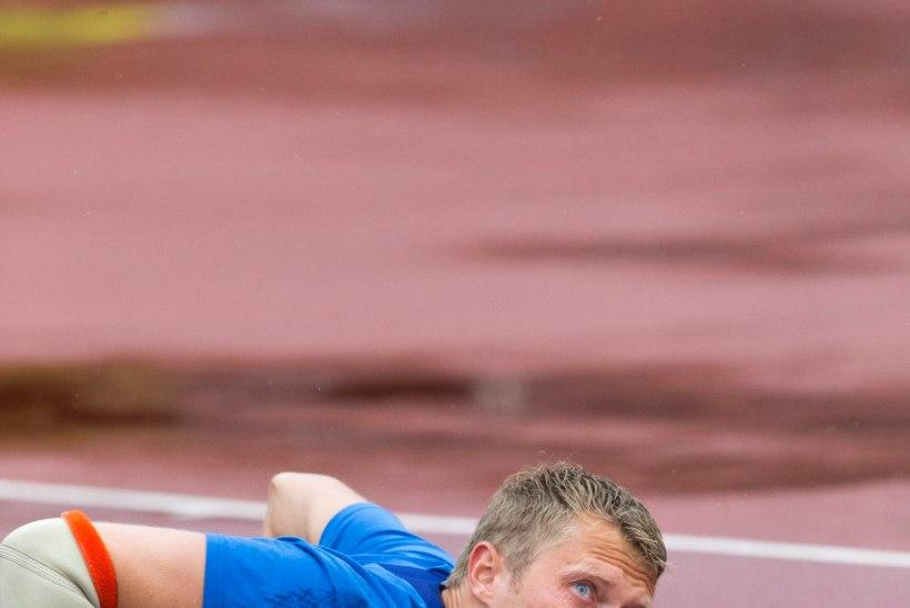 MMi kaheksas mees Mätas jäeti heitjate seeriavõistlusel kolmandaks!