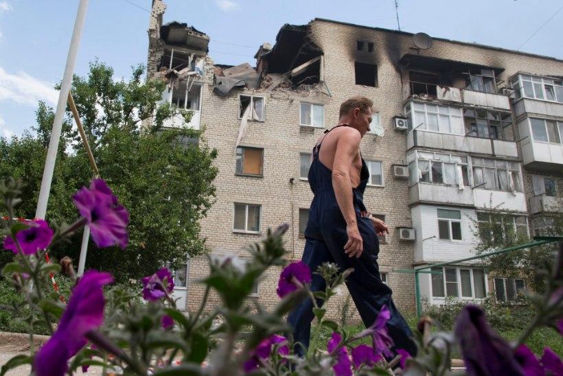 FOTOD DONETSKIST! Ukraina lahingutes hukkus viimase ööpäevaga viis sõdurit