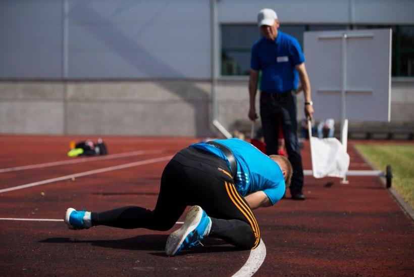Tanel Laanmäe viskas oda 82.38, kuid astus napilt üle