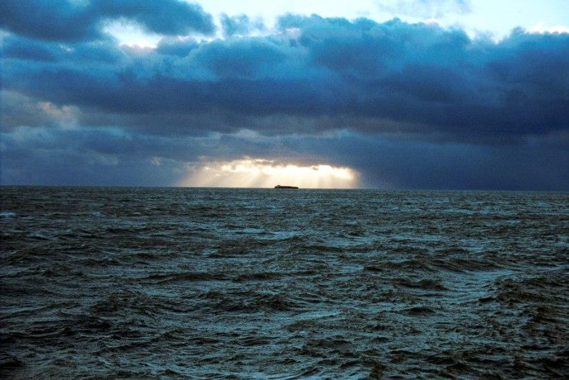 Harjumaal tõid päästjad kaldale kummimadratsiga merel triivinud noormehed