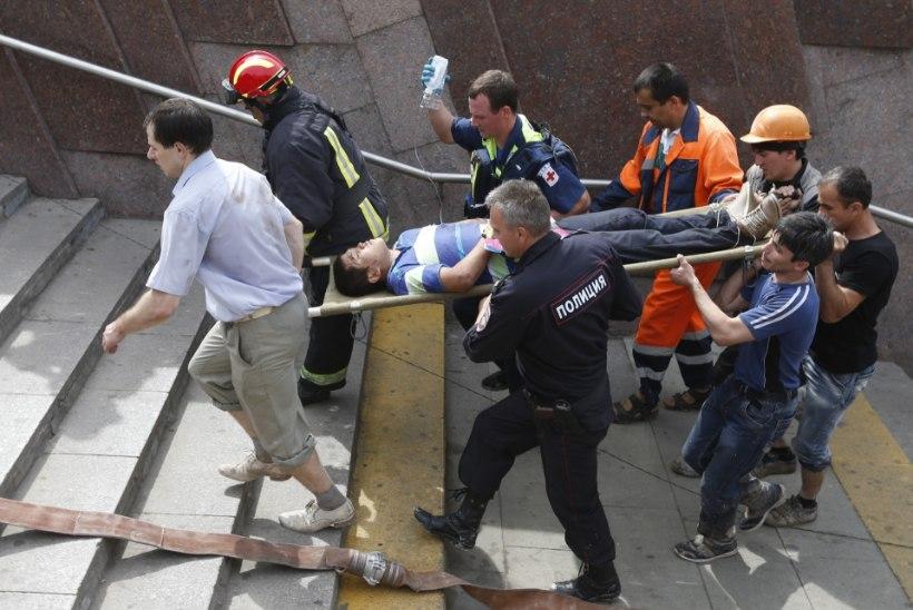 Suurõnnetus Moskva metroos: 21 hukkunut ja üle 160 vigastatu
