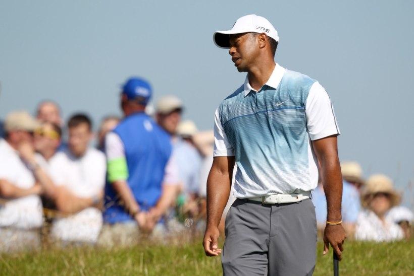 VIDEO: Fotograafid segasid Tiger Woodsi