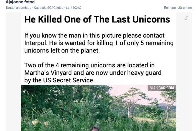 """PILTUUDIS: """"Saurusemõrtsukas"""" Steven Spielberg tappis huumoriportaali andmeil ükssarve"""