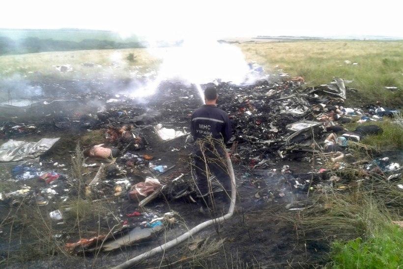 VIDEO JA PILDID! USA ametnik: Ukraina territooriumil tulistati alla Malaisia reisilennuk