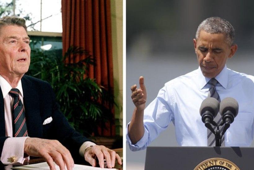 AJAD MUUTUVAD: Reagani ja Obama pöördumine ameeriklaste poole siis, kui venelased tulistasid alla reisilennuki