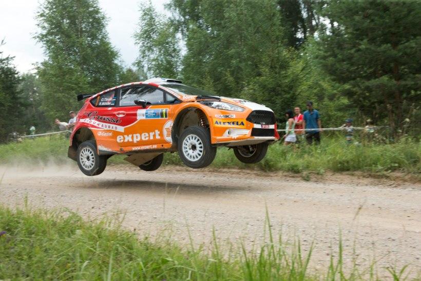 FOTOD: Ott Tänak võttis Rally Estonial kindla võidu, Timmu Kõrge lõpetas kolmandana