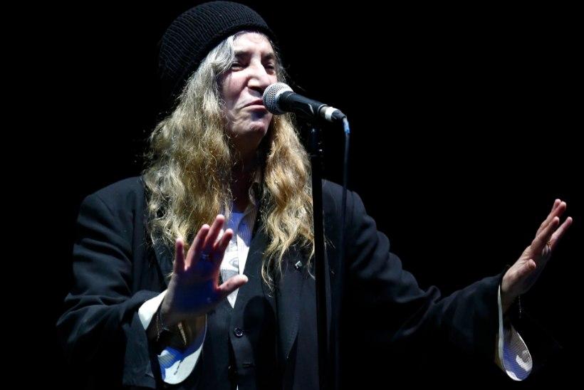 Patti Smith peab esinemist Eestis tuuri üheks kõrghetkeks