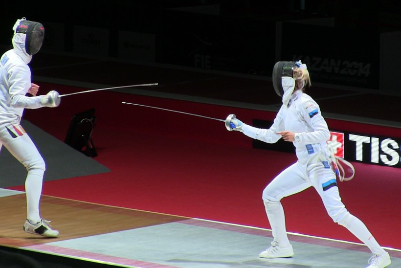 MEDAL! Erika Kirpu võitis pronksi, maailmameistrid said lüüa!
