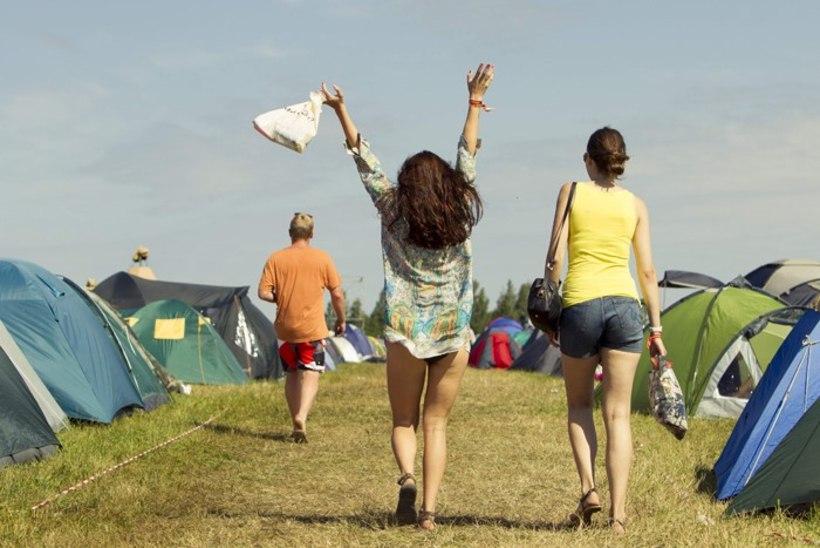 """Müüt: festivali """"Positivus"""" tõeline peomöll käib telklas"""