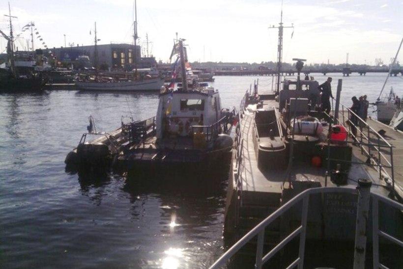 Programmiväline jõunäitamine: veepolitsei kimbutas merepäevadel Lennusadama töötajaid