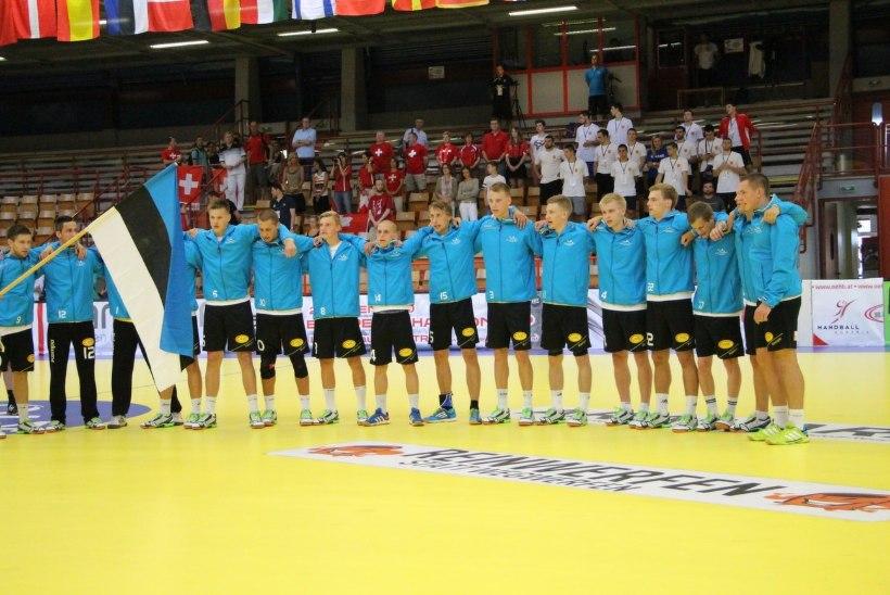 Noorte käsipallikoondis alustas EMi kaotusega