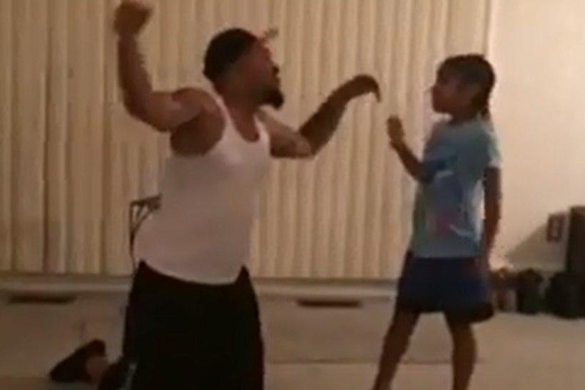 IMEARMAS! Isa ja tütar jäädvustasid oma ühise tantsukava videole
