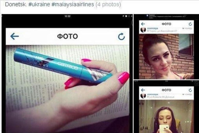 VÕIGAS: kaunitar kiitleb Malaisia lennuki ohvritelt röövitud kosmeetikaga