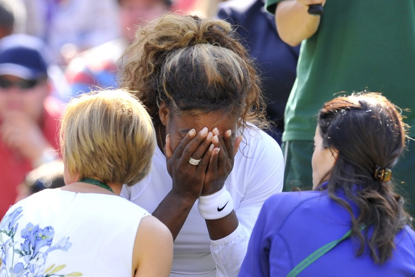 Saksa ajaleht: Serena Williams on rase!