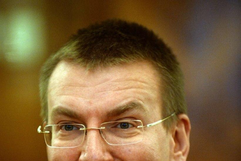 Läti välisminister hindab sanktsioone ebapiisavaks