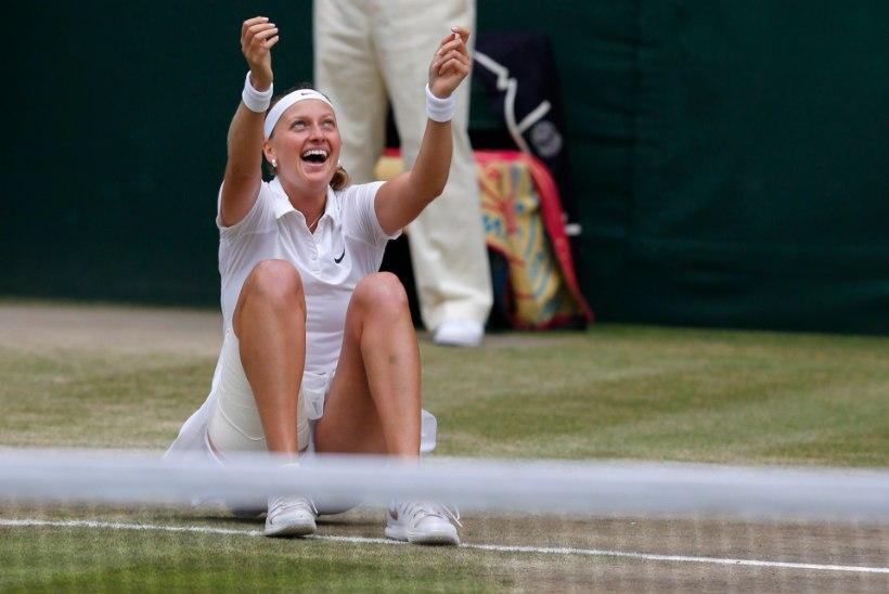 FOTOD: Petra Kvitova põrmustas Wimbledoni finaalis Kanada suurlootuse