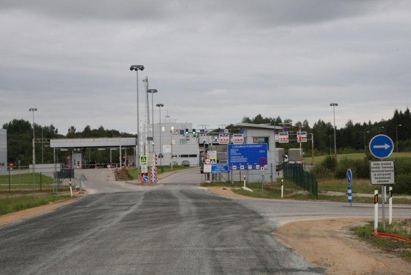 Luhamaa piiripunktis arestiti Saksamaal tagaotsitav sõiduk