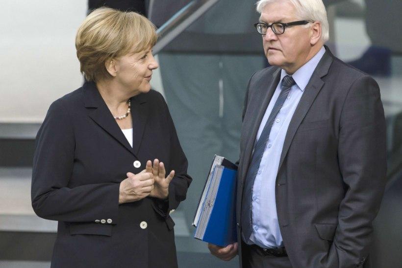 Steinmeier: Ukraina kriisi sõjaliselt ei lahenda
