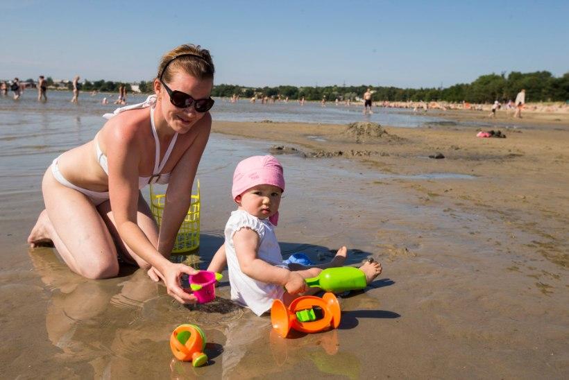 Mures ema: vanemad lasevad lapsed randa omapäi uitama!