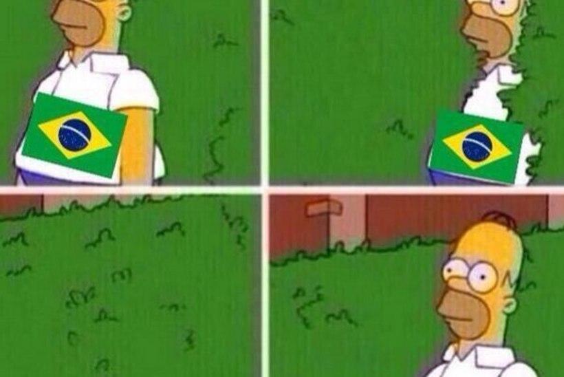 FOTOD: Pilapildid Brasiilia 1:7 kaotusest Saksamaale