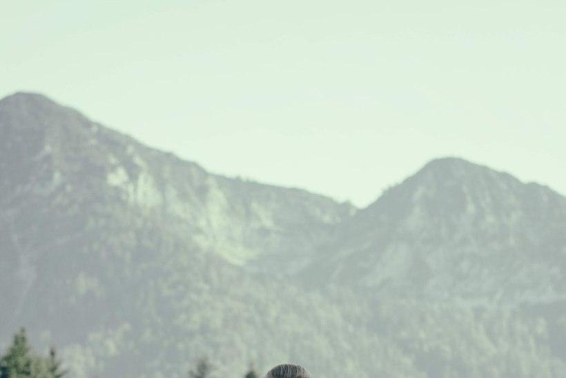 Saskia Alusalu maaliline ja töine suvi Alpides