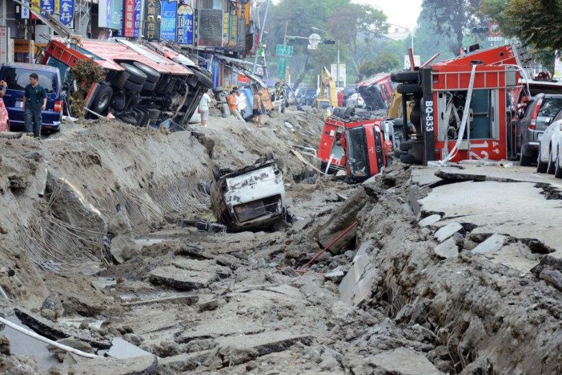 Gaasiplahvatustes hukkus 25 inimest