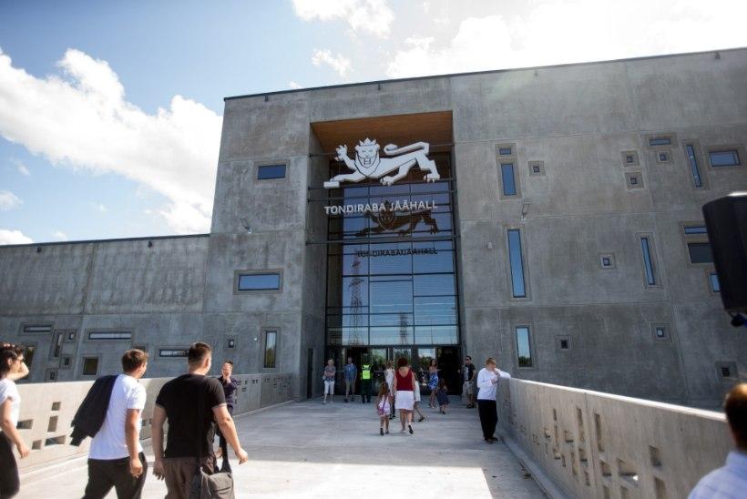 GALERII: Vaata, kuidas näevad välja täna avatud Tondiraba jäähall ja korvpalliväljak!