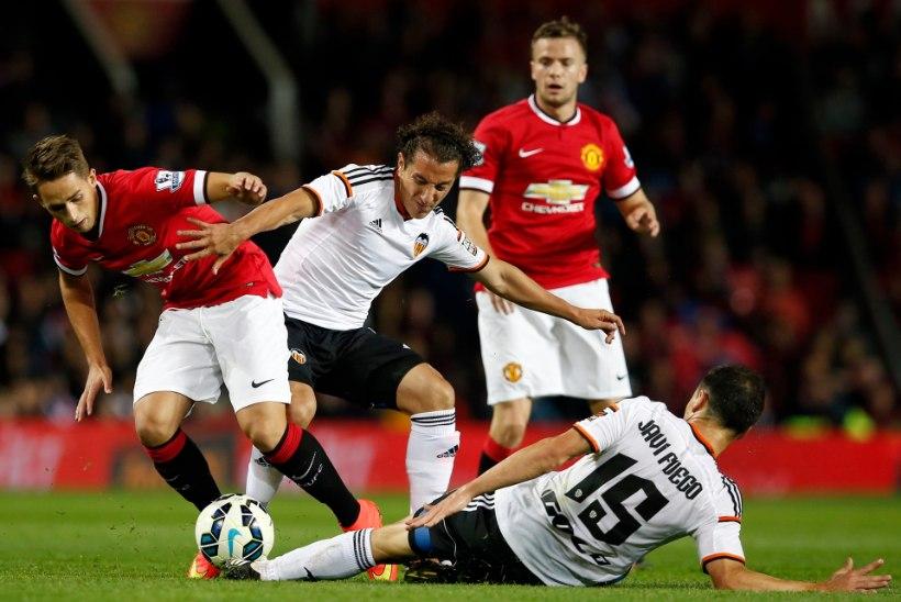 FOTOD JA VIDEO: Louis van Gaali juhendatud Manchester United jätkab võitmist - sõprusmängus alistati Valencia