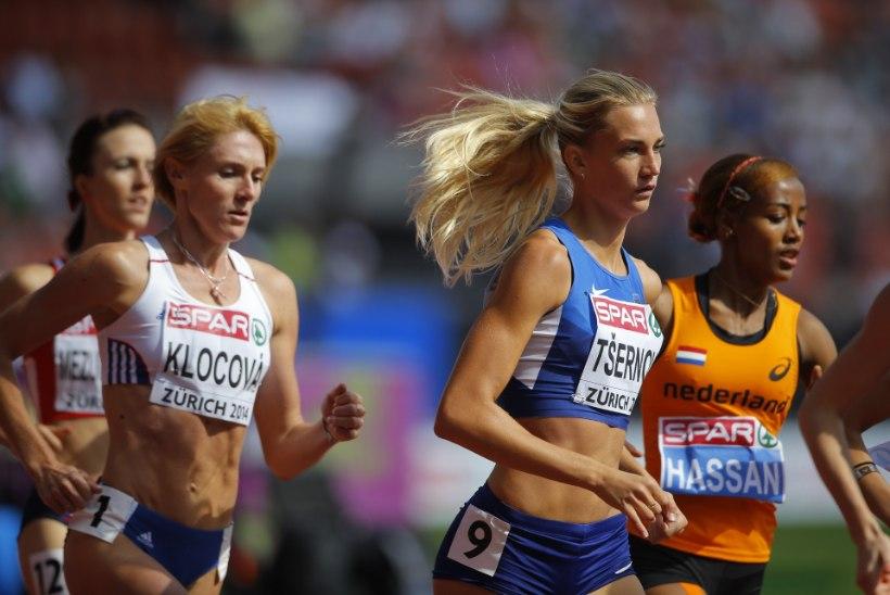 Liina Tšernov 800 m jooksus edasi ei saanud