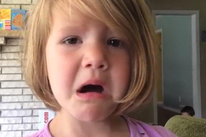 SÜDAMLIK VIDEO: 4aastane tüdruk mõistis, et kustutatud fotot ei saa enam mitte kunagi tagasi