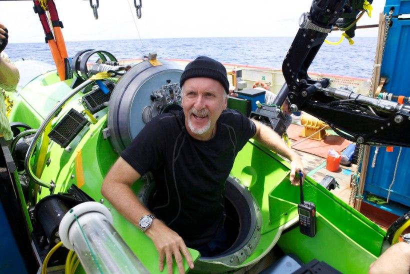 James Cameron: väntan megahitte vaid oma allveehobi rahastamiseks