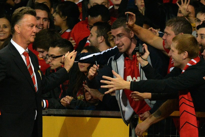 Manchester Unitedi legend: van Gaal on hull geenius!