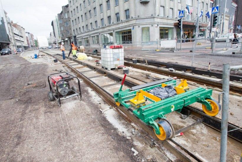 Tallinna liikluskaos lõpeb loodetavasti koos augustiga
