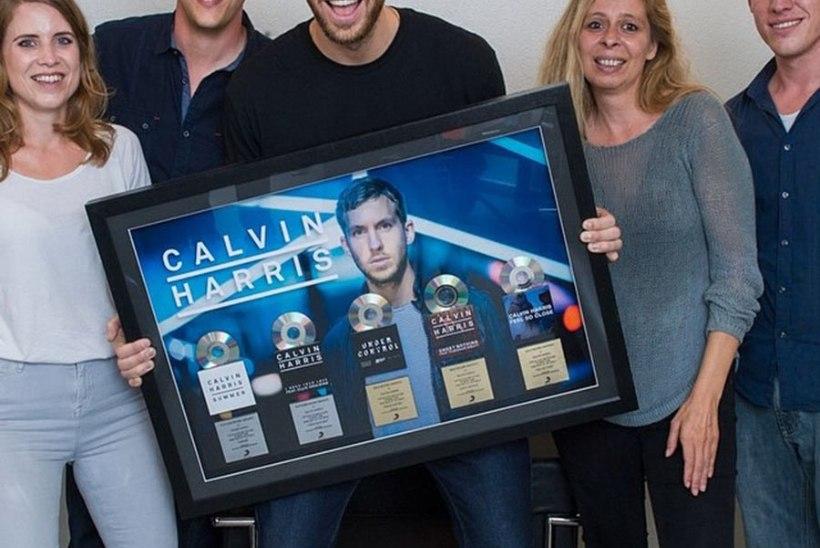 Calvin Harris on taas maailma enimteeniv DJ