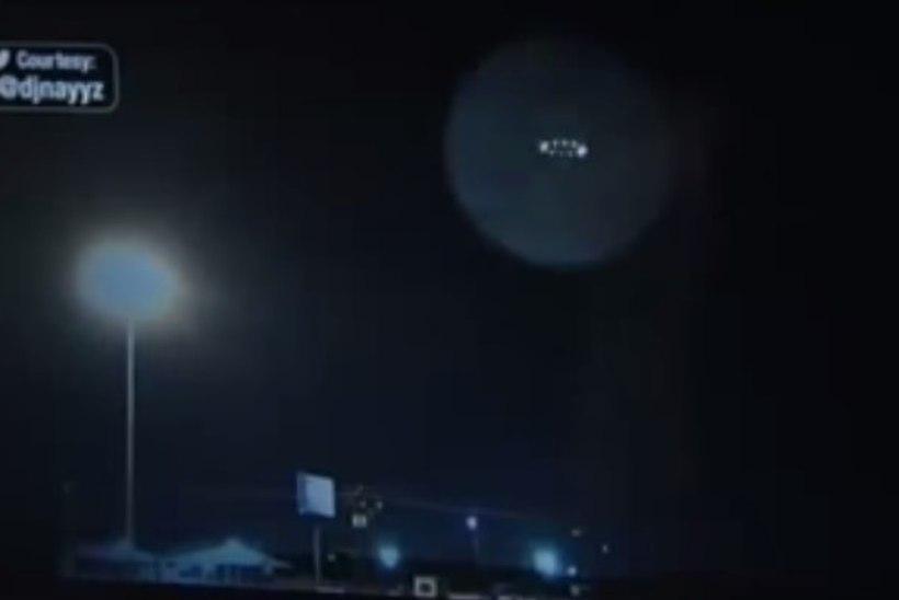 VIDEO: Ameeriklased nägid järjekordset UFO-t?