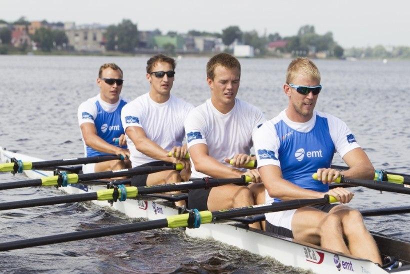 Taimsoo, Raja ja Kuslap said sõudmises kaks Eesti meistrikulda