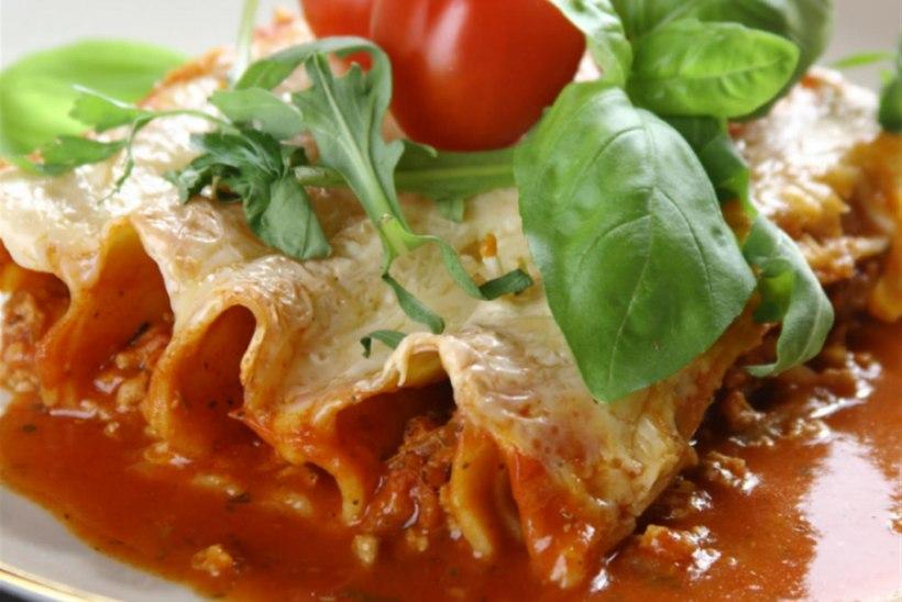 Itaalia cannelonid lihaga