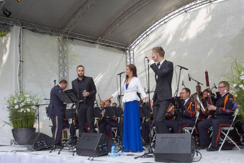 GALERII: meeleolukas taasiseseisvumispäeva kontsert Harjumäel